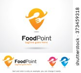 food point logo design template  | Shutterstock .eps vector #373459318