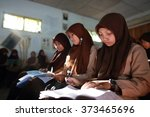 dieng plateau  java  indonesia  ... | Shutterstock . vector #373465696