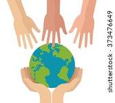 insurance icon design  | Shutterstock .eps vector #373476649