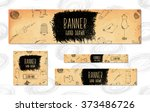 web banners for websites 4... | Shutterstock .eps vector #373486726
