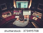 Sound Engineer Working At...
