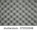 Small photo of Background of sound absorbing sponge in music studio