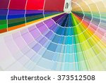 background of color paper chart