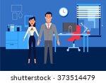 vector business figures for... | Shutterstock .eps vector #373514479