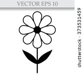 silhouettes of simple vector...   Shutterstock .eps vector #373531459