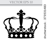 crown icon  | Shutterstock .eps vector #373531483