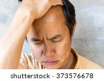 men who have gray hair . | Shutterstock . vector #373576678