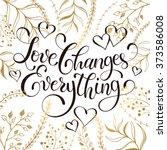 inspiring lettering black on... | Shutterstock .eps vector #373586008
