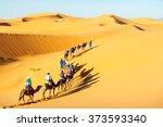 Caravan With Bedouins And...