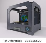 3d render of 3 dimensional ... | Shutterstock . vector #373616620