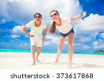 remote tropical beaches and... | Shutterstock . vector #373617868
