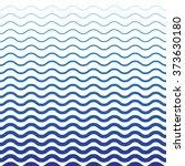wave blue pattern. sea... | Shutterstock .eps vector #373630180