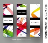 beautiful banner vector... | Shutterstock .eps vector #373675648