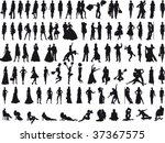 people vector vol_1 | Shutterstock .eps vector #37367575