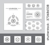 ayurveda vector illustration... | Shutterstock .eps vector #373686538