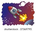 astronauta,astronomía,blast,celebracion,dibujos animados,comic,exploración,hasta,fuego,llama,vuelo,volar,galaxia,icono,ilustración