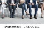 human resources interview... | Shutterstock . vector #373700113