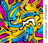 Colored Graffiti Abstract...