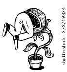 Carnivorous Plant Devouring A...