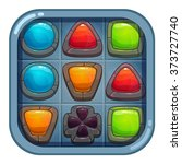 cartoon app icon with colorful...