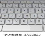 keyboard   3d | Shutterstock . vector #373728610