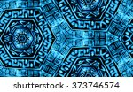 hand painted abstract... | Shutterstock . vector #373746574