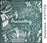 accounting and financial... | Shutterstock .eps vector #373777234