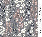seamless pattern design with... | Shutterstock .eps vector #373795810