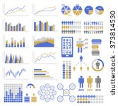 set of infographic elements.... | Shutterstock .eps vector #373814530
