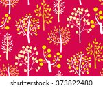 seamless pattern with hand... | Shutterstock .eps vector #373822480