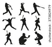 Set Of Baseball Players...
