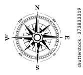 compass navigation dial  ... | Shutterstock .eps vector #373833319