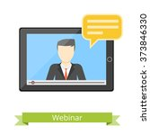 online support illustration.... | Shutterstock .eps vector #373846330