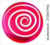 vector illustration. pink... | Shutterstock .eps vector #373847956