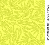 seamless leafl pattern to... | Shutterstock .eps vector #373874428