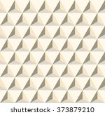 geometric pattern of triangles. ... | Shutterstock .eps vector #373879210