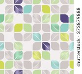 seamless geometric pattern with ... | Shutterstock .eps vector #373879888