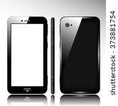 smart phone   mobile phone  ... | Shutterstock .eps vector #373881754
