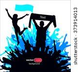 banner for sports championships ... | Shutterstock .eps vector #373914013
