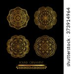 ornamental lace pattern for... | Shutterstock .eps vector #373914964
