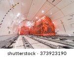air cargo freighter | Shutterstock . vector #373923190
