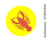 lobster vector icon