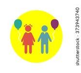 children vector icon