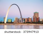 Downtown St Louis  Mo With The...
