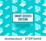 personal computer  laptop ... | Shutterstock .eps vector #373976443