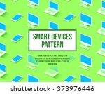 personal computer  laptop ... | Shutterstock .eps vector #373976446