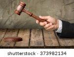 judge. | Shutterstock . vector #373982134