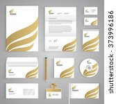 corporate identity branding... | Shutterstock .eps vector #373996186