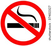 no smoking sign | Shutterstock . vector #37402327