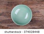empty bowl on wood    Shutterstock . vector #374028448